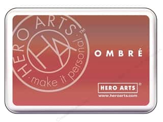 ombre ink pad: Hero Arts Ink Pad Ombre Light Ruby/Royal Red