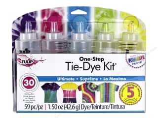 Tulip Dye Kit One Step Tie 5 Color Ultimate