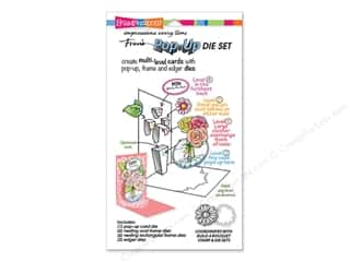 rectangle die: Stampendous Die Build A Pop Up