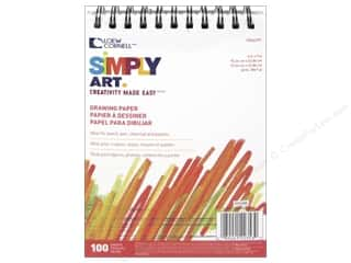 "craft & hobbies: Loew Cornell Simply Art Drawing Paper Pad 6""x 9"""