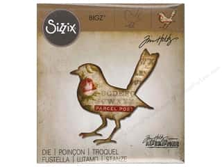 die cutting machines: Sizzix Bigz Dies Bird Silhouette by Tim Holtz