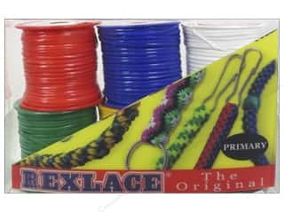 beading & jewelry making supplies: Pepperell Vinyl Craft Lace 6 Pack Primary Colors