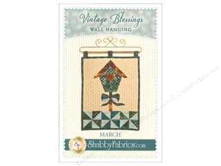 books & patterns: Shabby Fabrics Vintage Blessings March Wall Quilt Pattern