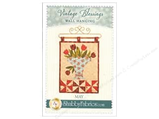 books & patterns: Shabby Fabrics Vintage Blessings May Wall Quilt Pattern