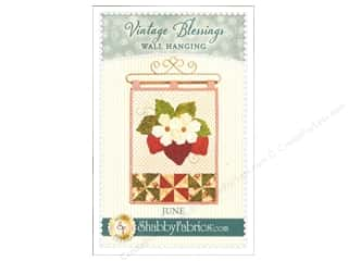 books & patterns: Shabby Fabrics Vintage Blessings June Wall Quilt Pattern