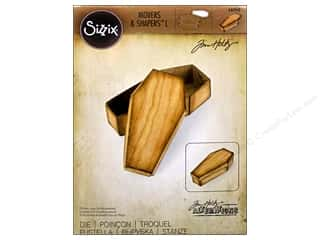 Sizzix Movers & Shapers Dies L Coffin Box by Tim Holtz