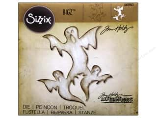 Sizzix Bigz Dies Ghosts by Tim Holtz