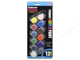 Acrylic Paint Blue: Palmer Acrylic Paint Pot Set - 12 Color Primary