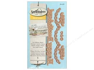 Spellbinders D-Lites Die Happy Birthday Garland