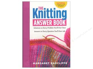 yarn  books: Storey Publications The Knitting Answer 2nd Edition Book