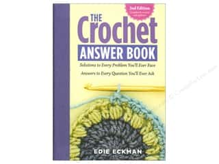 yarn  books: Storey Publications The Crochet Answer 2nd Edition Book