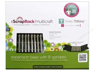 Totally Tiffany ScrapRack Expansion Base and 8 Spinders