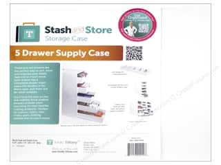 ruler: Totally Tiffany Stash & Store Supply Case 5 Drawer