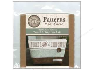 books & patterns: The Wooden Bear A La Carte Yarned & Dangerous Knit CD Pattern