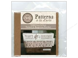 books & patterns: The Wooden Bear A La Carte Yarned & Dangerous Crochet CD Pattern
