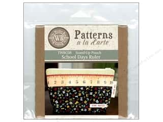 The Wooden Bear A La Carte School Days Ruler CD Pattern