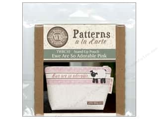 books & patterns: The Wooden Bear A La Carte Ewe Are So Adorable Pink CD Pattern