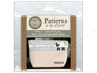 books & patterns: The Wooden Bear A La Carte Ewe Are So Adorable Blue CD Pattern
