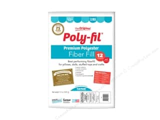 craft & hobbies: Fairfield Fiber Poly Fil Bag 12 oz