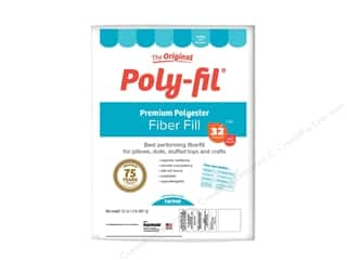 craft & hobbies: Fairfield Fiber Poly Fil Bag 32oz