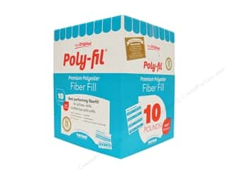 craft & hobbies: Fairfield Fiber Poly Fil Box 10 lb
