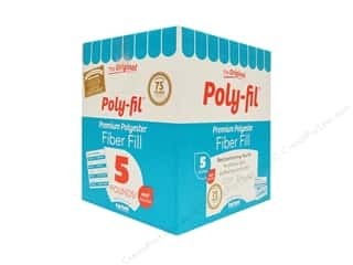 sewing & quilting: Fairfield Fiber Poly Fil Box 5lb