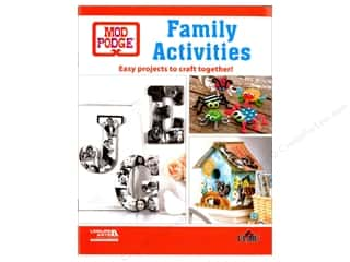 books & patterns: Leisure Arts Mod Podge Family Activities Book