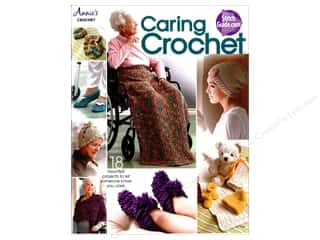 yarn  books: Annie's Caring Crochet Book