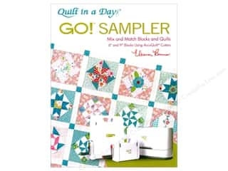 Clearance: Quilt In A Day Go Sampler Book