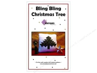 books & patterns: Boutiques And More Bling Bling Christmas Tree Pattern