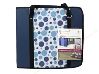 Weekly Specials Beadalon Elasticity: Totally Tiffany Organizers ScrapRack Create and Carry Craft Binder Dot Blue