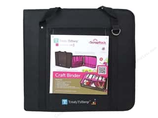 Weekly Specials Hot Glue: Totally Tiffany Organizers ScrapRack Craft Binder Black/Pink