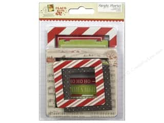 Memory & Paper Craft Frames: Simple Stories Chipboard Frames Claus & Co Collection