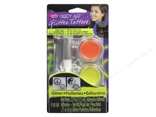 Tulip Body Art Tattoo Glitter Kit Happy/Peace