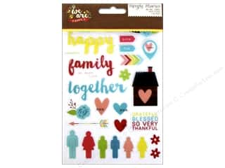 Theme Stickers / Collection Stickers: Simple Stories We Are Family Collection Sticker Photo