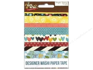 Weekly Specials Cross Stitch Kits: Simple Stories We Are Family Collection Washi Paper Tape