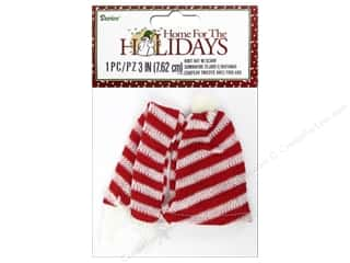 """Darice Decor Holiday Snowman Knit Hat & Scarf Set 3"""" Picture"""