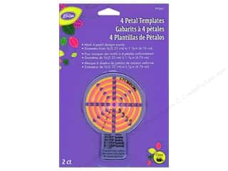 Dritz Notions: LoRan/Dritz Notions Template 4 Petal Small 2pc