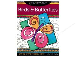 Design Originals Zenspirations Birds & Butterflies Book