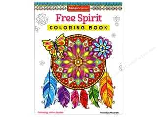 Design Originals Free Spirit Coloring Book