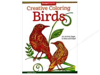 books & patterns: Design Originals Birds Coloring Book