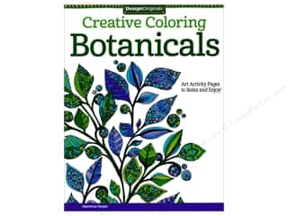 Design Originals Botanicals Coloring Book