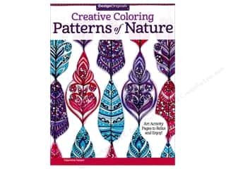 books & patterns: Design Originals Pattrns Of Nature Coloring Book