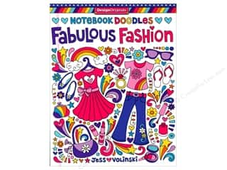 books & patterns: Design Originals Notebook Doodles Fabulous Fashion Book