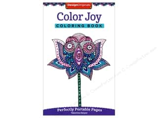 books & patterns: Design Originals Color Joy Coloring Book