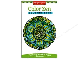 decorative bird': Design Originals Color Zen Coloring Book