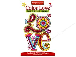 Design Originals Color Love Coloring Book