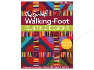 C&T Publishing Foolproof Walking-Foot Quilting Designs Book