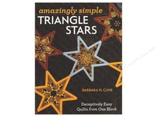C&T Publishing Amazingly Simple Triangle Stars Book