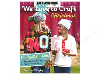 books & patterns: FunStitch Studio By C&T We Love To Craft Christmas Book